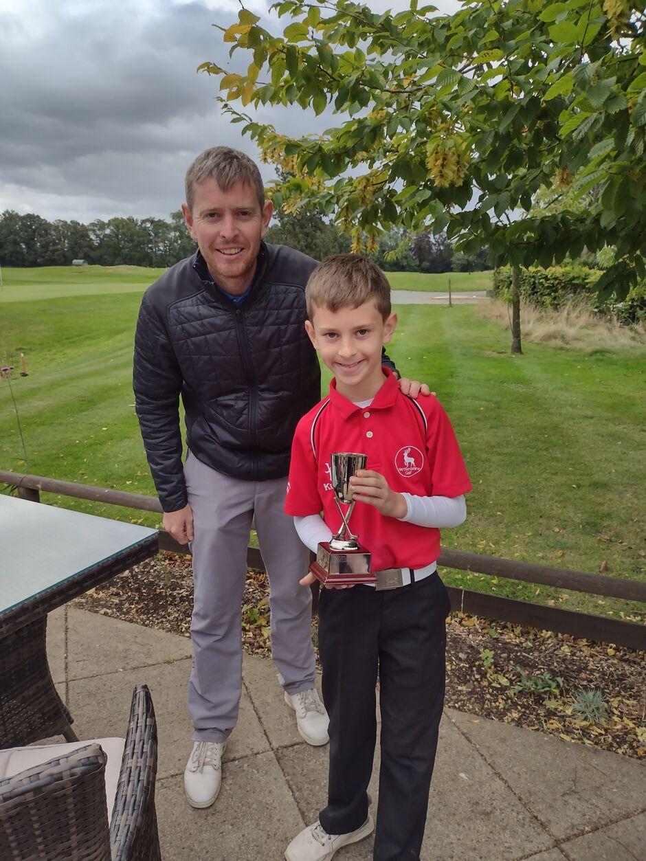 Order of Merit Winner 2021 - Dylan Barney